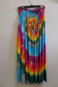 Spiral – Tie-Dyed Dress – A Brighter World, Santa Cruz, CA