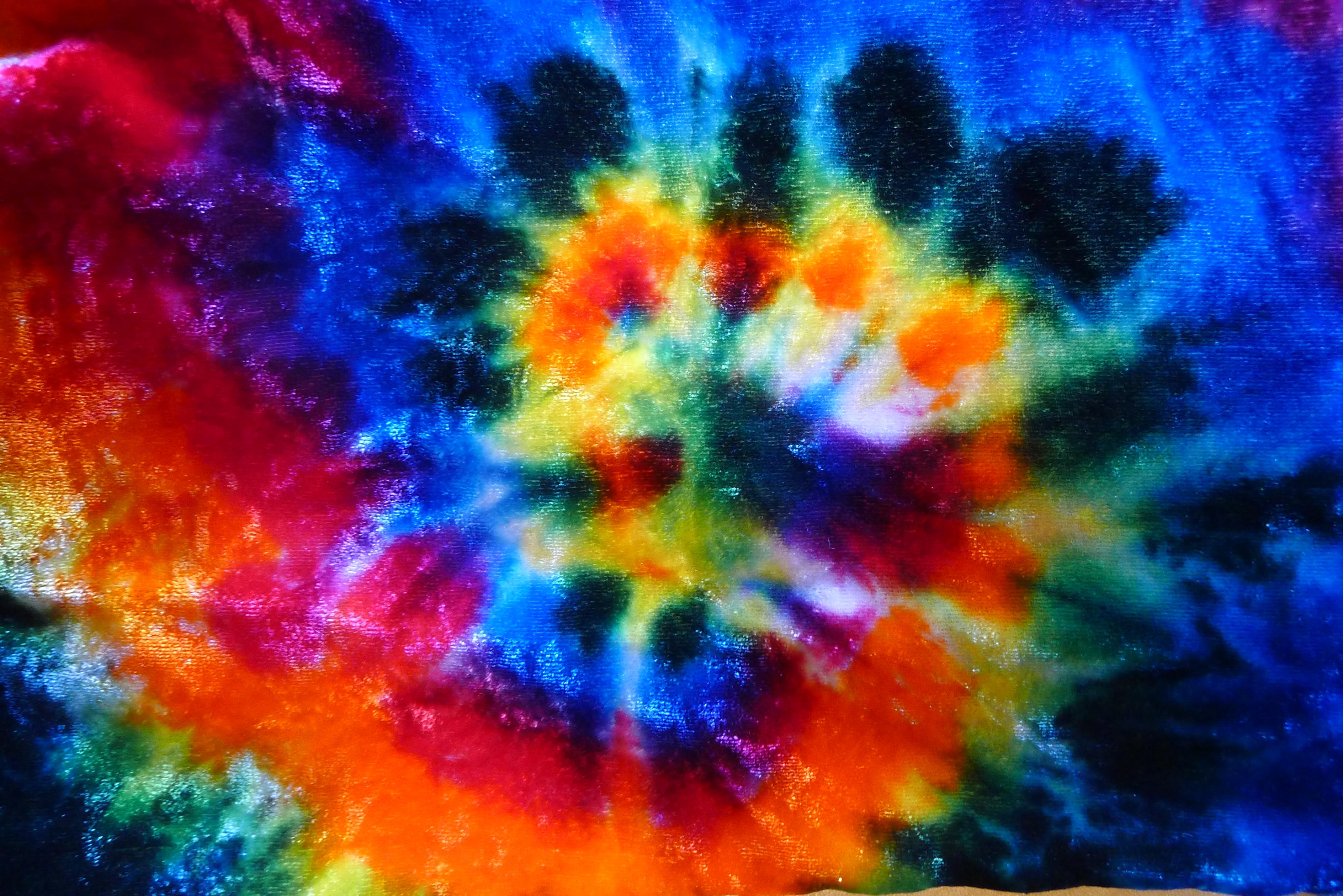 spiral on velvet tie dyed scarf a brighter world. Black Bedroom Furniture Sets. Home Design Ideas