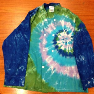 Chef's Coat – A Brighter World Tie Dye – Santa Cruz, California