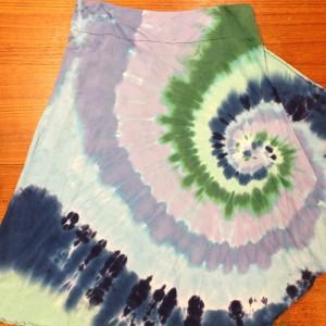 Dharma Skirt Spiral – A Brighter World Tie Dye – Santa Cruz, California